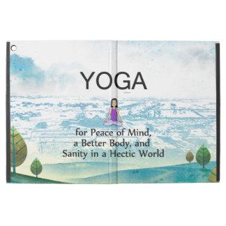 TOP Yoga Slogan iPad Pro Case