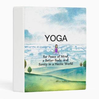 TOP Yoga Slogan Mini Binder