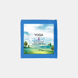 TOP Yoga Slogan Reusable Bag