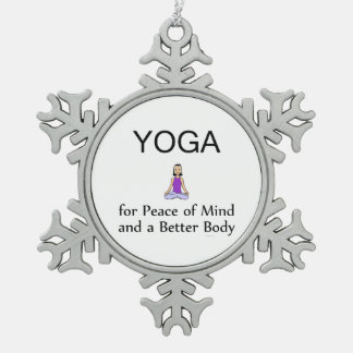 Yoga Slogan Ornaments & Keepsake Ornaments | Zazzle