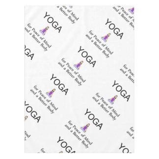 TOP Yoga Slogan Tablecloth