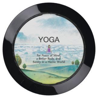 TOP Yoga Slogan USB Charging Station