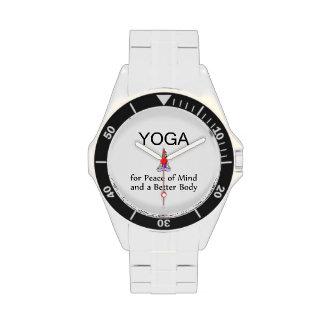 TOP Yoga Slogan Wristwatch