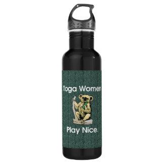 TOP Yoga Women Stainless Steel Water Bottle