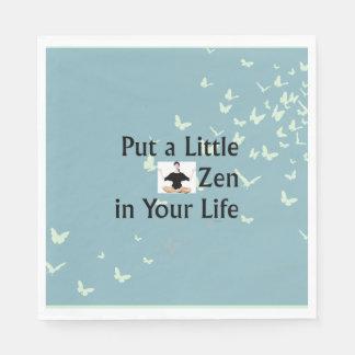 TOP Zen Slogan Standard Luncheon Napkin