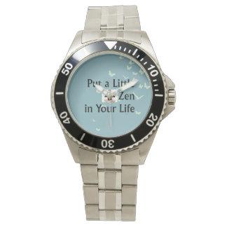 TOP Zen Slogan Watches