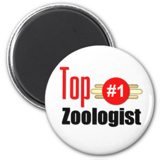 Top Zoologist 2 Inch Round Magnet
