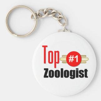 Top Zoologist Basic Round Button Keychain