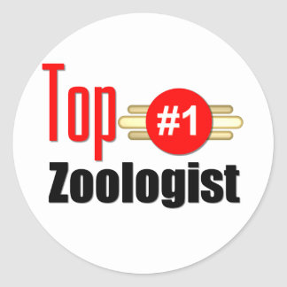 Top Zoologist Classic Round Sticker