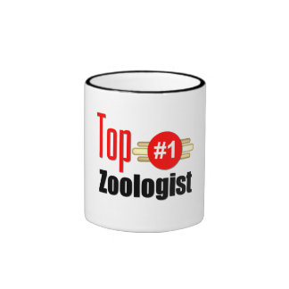 Top Zoologist Ringer Coffee Mug
