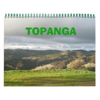 Topanga Canyon Calendar