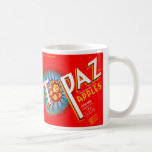 Topaz Apple Label Coffee Mug