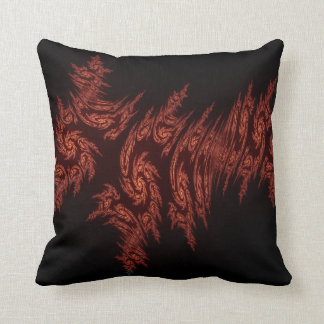 Topaz Crystals Throw Pillow