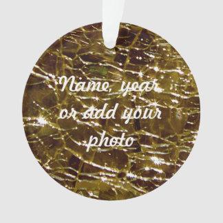 Topaz de cristal Crackled de Birthstone noviembre