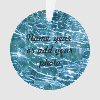 Topaz de cristal Crackled del azul de Birthstone