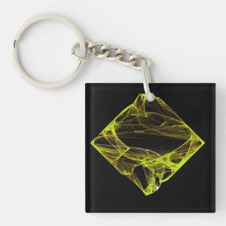 Topaz Diamond Keychain