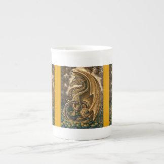 Topaz Dragon Bone China Mug