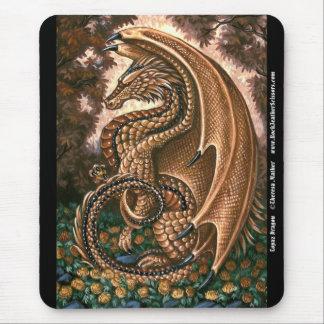 Topaz Dragon Mousepad