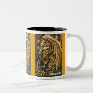 Topaz Dragon Wraparound Mug