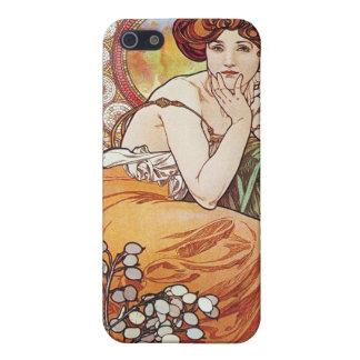 Topaz Goddess iPhone SE/5/5s Cover