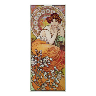 Topaz Goddess Poster
