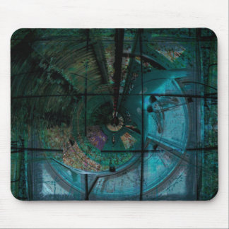 Topaz Spiral Steam Mouse Pad