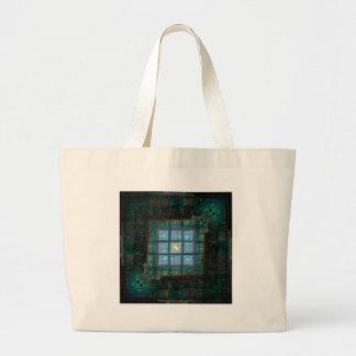 Topazed Large Tote Bag
