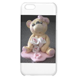 topcake teddy bear girl case for iPhone 5C