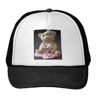 topcake teddy bear girl trucker hat