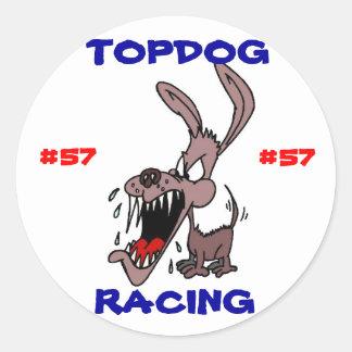 TOPDOG RACING STICKER