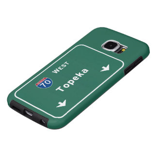 Topeka Kansas ks Interstate Highway Freeway : Samsung Galaxy S6 Case