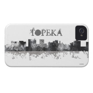 TOPEKA KANSAS SKYLINE iPhone 4 COVER