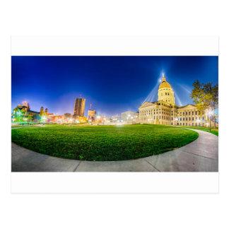 Topeka Kansas skyline Postcard