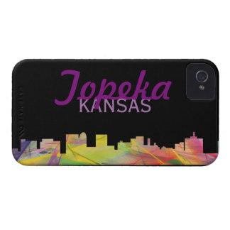 TOPEKA KANSAS SKYLINE WB1 - iPhone 4 Case-Mate CASE