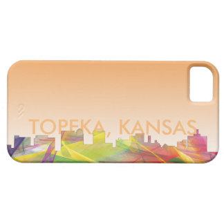 TOPEKA KANSAS SKYLINE WB1 - iPhone SE/5/5s CASE