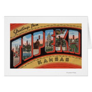 Topeka, KansasLarge Letter ScenesTopeka, KA Card