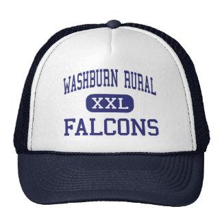 Topeka medio Kansas de los Falcons rurales de Wash Gorros