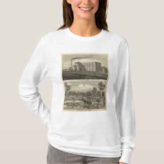Topeka Starch Worksand Residence of DM Howard T-Shirt