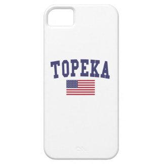 Topeka US Flag iPhone SE/5/5s Case