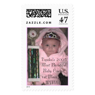 Topeka's 2005 Most Beautiful Baby Conte... Postage