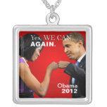 Topetón del puño de Obama - podemos sí otra vez Joyeria Personalizada