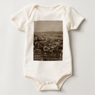 Tophane and Uskudar Constantinople Turkey 1880s Baby Bodysuit