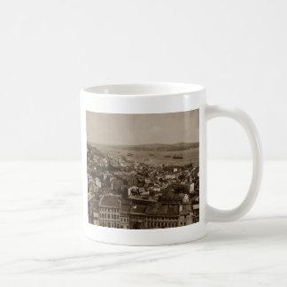 Tophane and Uskudar Constantinople Turkey 1880s Coffee Mug