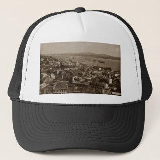Tophane and Uskudar Constantinople Turkey 1880s Trucker Hat