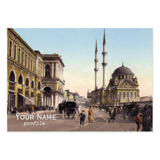 Tophane square ,Istanbul Large Business Cards (Pack Of 100)