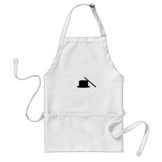 Tophat And Wand Adult Apron