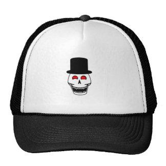 Tophat Skull Trucker Hat
