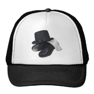 TopHatTapShoesGloves012511 Trucker Hat