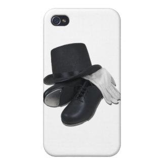 TopHatTapShoesGloves012511 iPhone 4 Carcasas