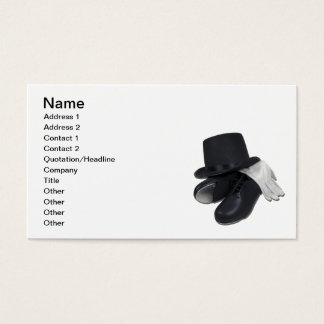 TopHatTapShoesGloves012511, Name, Address 1, Ad... Business Card